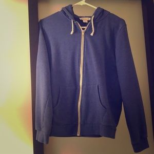 Forever 21 Cotton Zip Up Hoodie Women Size Small